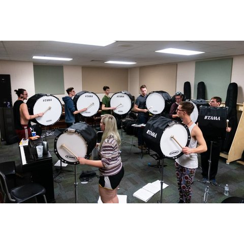 Complete Tama Marching Band Drumline Snares, Tenors, Bass Drums & MORE! Set 1