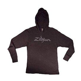 Zildjian Zildjian Long Sleeve Lightweight Hoodie, Charcoal XL