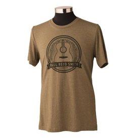 PRS PRS Acoustic Guitar Design T-Shirt, Heather Olive L