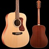 Guild Westerly Collection D-240E Natural w/ Deluxe Bag SN/G21808734