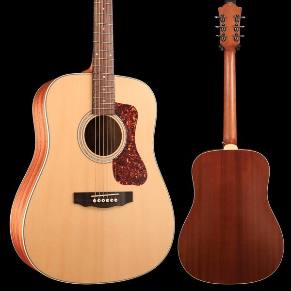Guild Guild Westerly Collection D-240E Natural w/ Deluxe Bag SN/G21808734