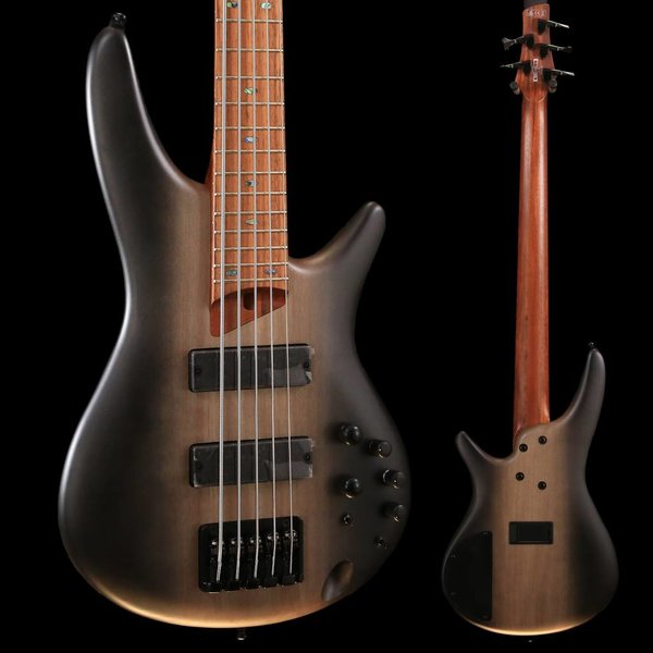 Ibanez Ibanez SR505ESBD SR Standard 5str Electric Bass - Surreal Black Dual Fade