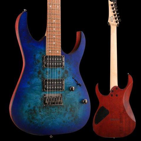 Ibanez RG421PBSBF RG Electric Guitar Flat Sapphire Blue