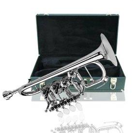 Scherzer Scherzer 8111-S Professional Bb/A Rotary Piccolo Trumpet