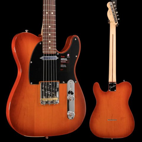 Fender American Performer Telecaster, Rw Fb, Honey Burst US19073221 7lbs 9.2oz