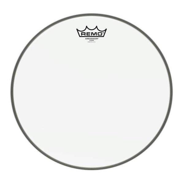 "Remo Remo Ambassador Clear Drumhead 13"""