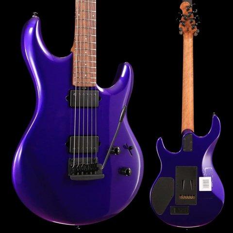 Ernie Ball Music Man Luke 3 HH Firemist Purple Figured Roasted Maple w/ Hard Case