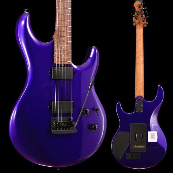Music Man Ernie Ball Music Man Luke 3 HH Firemist Purple Figured Roasted Maple w/ Hard Case