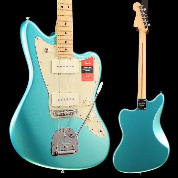 Fender Fender American Pro Jazzmaster, Maple Fb, Mystic Seafoam US18005124 8lbs 4.7oz