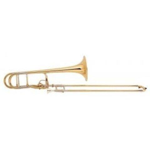 Bach 42G Stradivarius Tenor Trombone, Gold Brass Bell