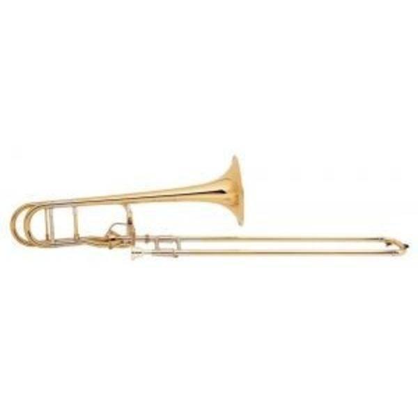 Bach Bach 42G Stradivarius Tenor Trombone, Gold Brass Bell