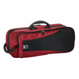 Ace Kaces KBF-RTP4 Trumpet Case, Red