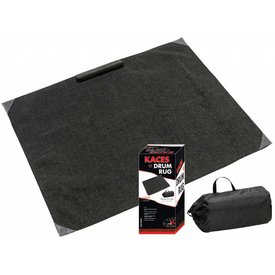Ace Kaces KCP-5 Professional Drum Rug, Black