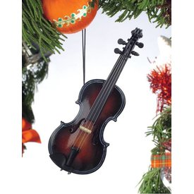 Music Treasures Co. Fiddle Christmas Ornament
