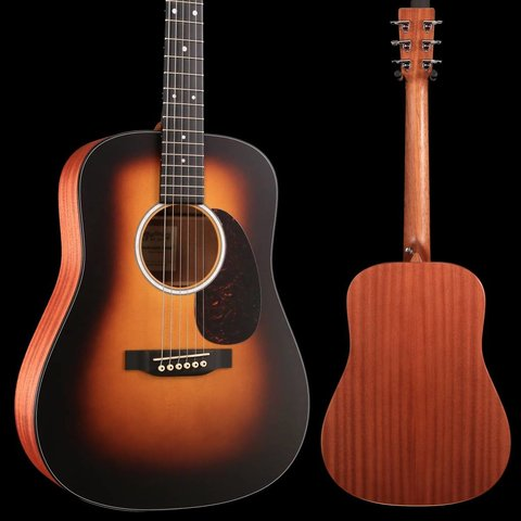 Martin DJr-10E Burst Junior (Gig Bag Included) S/N 2254599