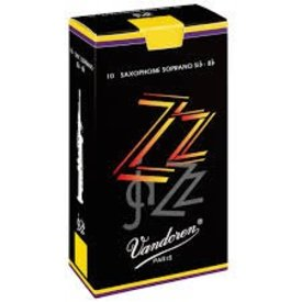 Vandoren Vandoren Soprano Sax ZZ Reeds, Box of 10 Strength 4