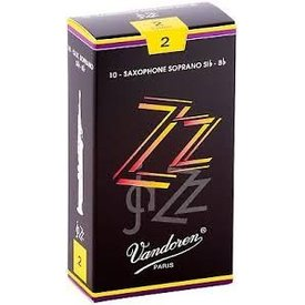 Vandoren Vandoren Soprano Sax ZZ Reeds, Box of 10 Strength 2