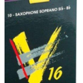 Vandoren Vandoren Soprano Sax V16 Reeds, Box of 10 Strength 3.5