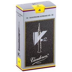 Vandoren Vandoren Soprano Sax V.12 Reeds, Box of 10 Strength 4