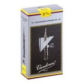 Vandoren Vandoren Soprano Sax V.12 Reeds, Box of 10 Strength 2.5