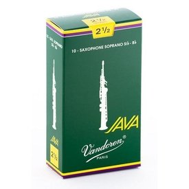 Vandoren Vandoren Soprano Sax Java Reeds, Box of 10 Strength 2.5