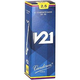 Vandoren Vandoren Bb Clarinet V21 Reeds, Box of 50 Strength 2.5