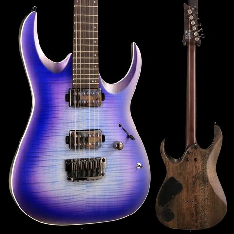 Ibanez RGA61ALIAF RGA Axion Label 6str Electric Guitar - Indigo Aurora Burst Flat SN/181114312