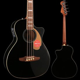 Fender Kingman Bass Walnut Fingerboard Black