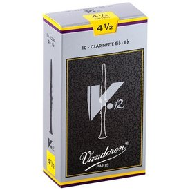 Vandoren Vandoren Bb Clarinet V.12 Reeds, Box of 10 Strength 4.5