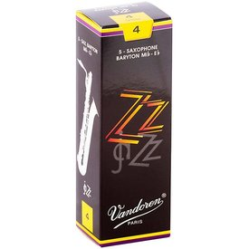 Vandoren Vandoren Bari Sax ZZ Reeds, Box of 5 Strength 4