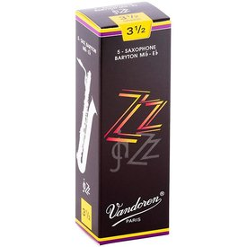 Vandoren Vandoren Bari Sax ZZ Reeds, Box of 5 Strength 3.5