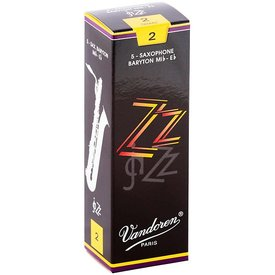 Vandoren Vandoren Bari Sax ZZ Reeds, Box of 5 Strength 2
