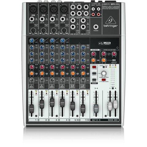 Behringer 1204USB 12-Input 2-Bus Mixer, XENYX/EQ