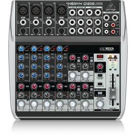 Behringer Behringer Q1202USB 12-Input 2-Bus Mixer, XENYX/EQ
