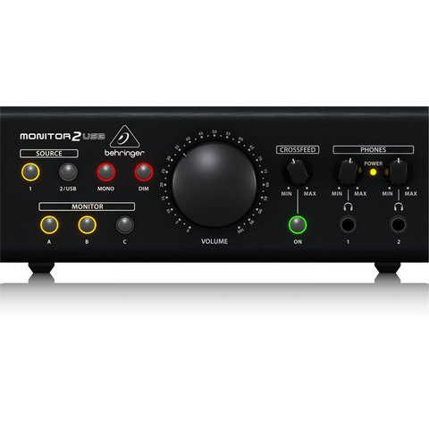 Behringer MONITOR2USB Speaker/HP Monitoring Controller