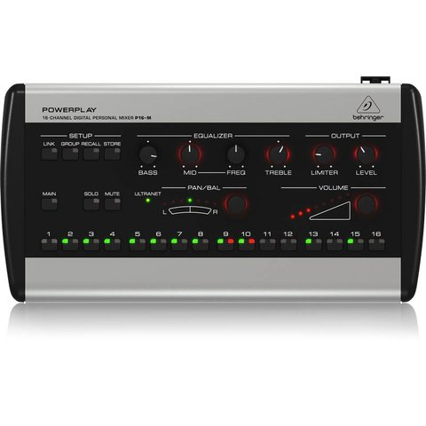 Behringer P16M 16-Ch Digital Personal Mixer