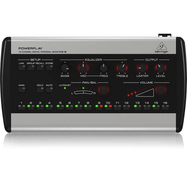 Behringer Behringer P16M 16-Ch Digital Personal Mixer