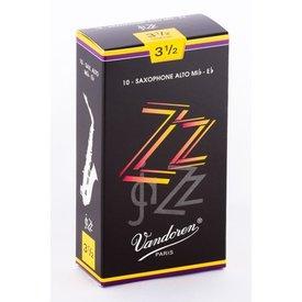 Vandoren Vandoren Alto Sax ZZ Reeds, Box of 10 Strength 3.5