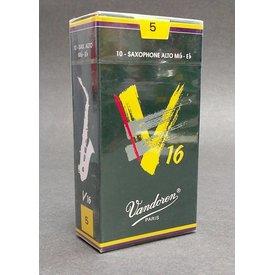 Vandoren Vandoren Alto Sax V16 Reeds Strength #5; Box of 10
