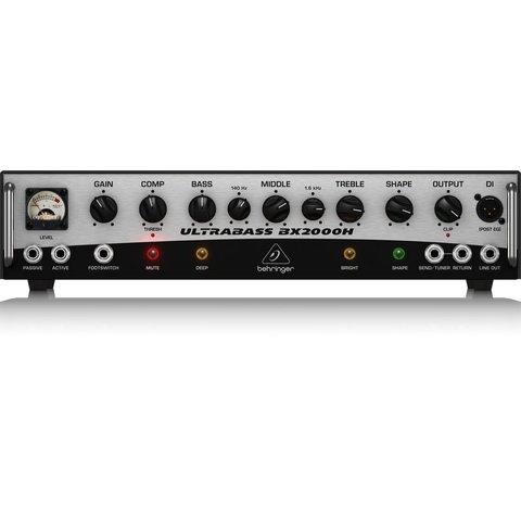 Behringer BX2000H 2000W Class-D Bass Amplifier