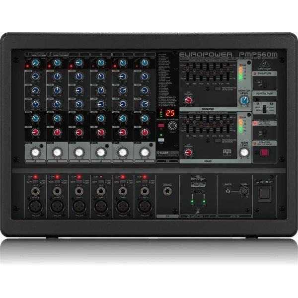 Behringer Behringer PMP560M 500W 6-Channel Mixer, M-FX