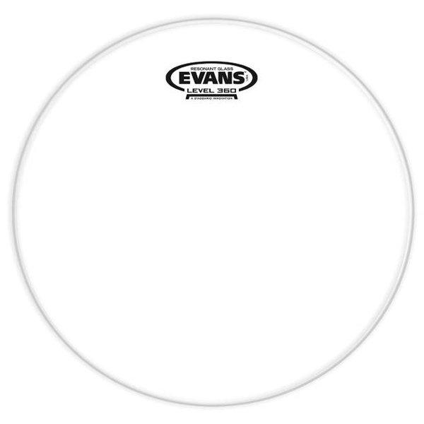 "Evans Evans Resonant Glass Drum Head 10"""