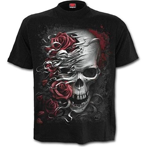Fender Ladies Skull Roses T-Shirt M