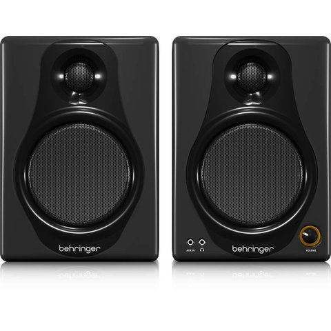 Behringer MEDIA40USB High-Res 40W Bi-Amp Speakers/USB