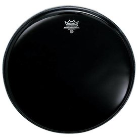 "Remo Remo Ambassador Black Suede Tom Batter Drumhead 16"""