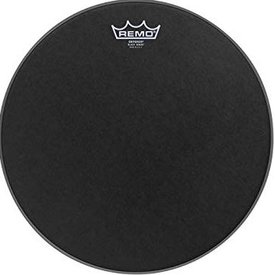 """Remo Remo Emperor Black Suede Tom Batter Drumhead 12"""""""