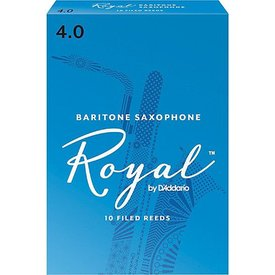 Rico Rico Royal Baritone Sax Reeds, Box of 10 Strength 4