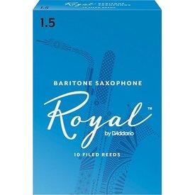 Rico Rico Royal Baritone Sax Reeds, Box of 10 Strength 1.5