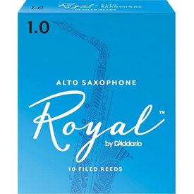 Rico Rico Royal Alto Sax Reeds, Box of 10 Strength 1
