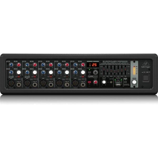 Behringer Behringer PMP550M 500W 5-Channel Mixer, M-FX